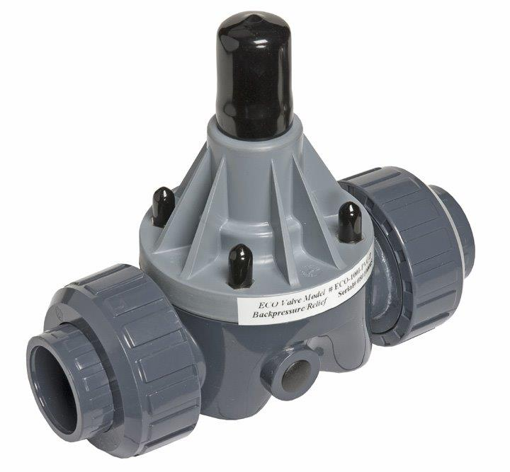 Eco Valve Union Connection Valve in PVC