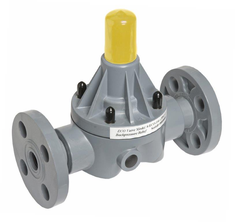 Eco Valve Flanged Valve in CPVC